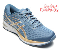 Tênis Asics Gel-Cumulus 21 She Moves Grey Floss/Champagne Feminino