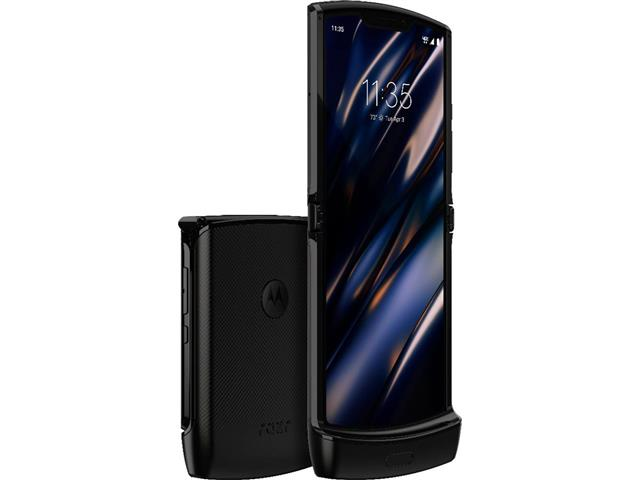"Smartphone Motorola Razr Tela Dobrável 6.2"" 128GB 6GB Ram 16+5MP Preto"