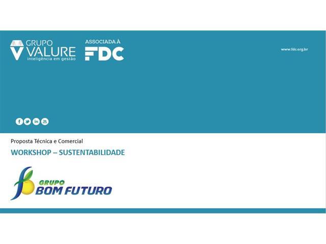 Workshop Sustentabilidade Bom Futuro - FDC