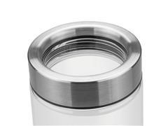 Pote de Vidro Tramontina Purezza com Tampa de Aço Inox 10 cm 400ML - 2