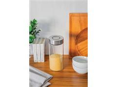 Pote de Vidro Tramontina Purezza com Tampa de Aço Inox 10cm 1,4 Litros - 4