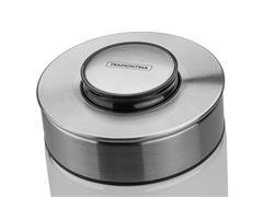 Pote de Vidro Tramontina Purezza com Tampa de Aço Inox 10cm 1,4 Litros - 2