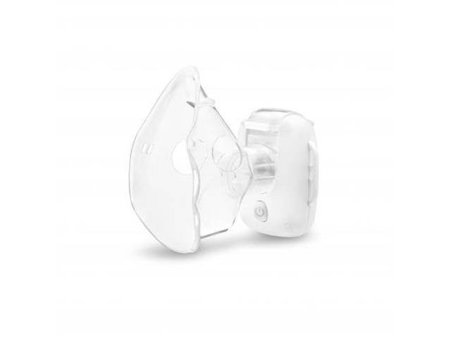 Inalador Portátil Multilaser Mesh Air Mask Recarregável Branco
