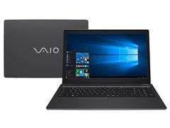 "Notebook VAIO® Fit 15S Core™ i3 7ª Geração 4GB 1TB HD 15,6""Win10 Cinza"