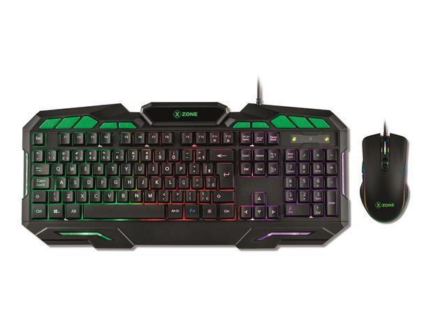 Combo Gamer XZONE Teclado e Mouse