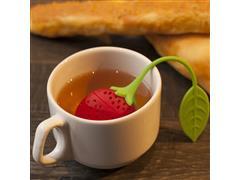 Infusor de Chá de Silicone Prana Formato de Morango - 2