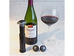 Bomba de Vácuo para Vinho Prana com Marcadores de Data - 1