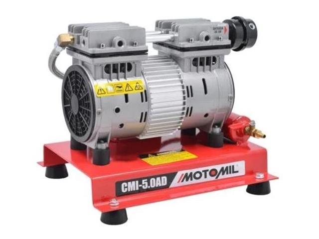 Compressor de Ar Motomil CMI-5.0/AD Isento de Óleo Monofásico