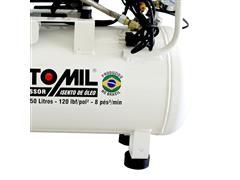 Compressor de Ar Odontológico Motomil CMO-8/50 Isento de Óleo - 4