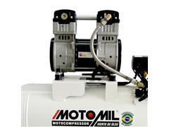 Compressor de Ar Odontológico Motomil CMO-8/50 Isento de Óleo - 1