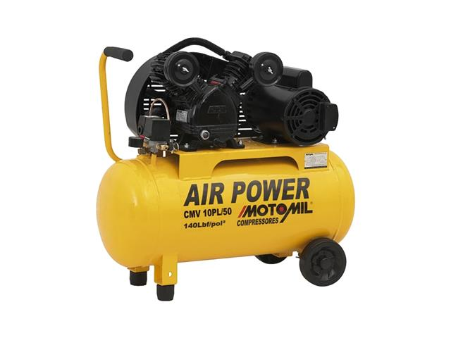 Compressor de Ar Motomil CMV-10PL/50 Air Power 2CV Monofásico Bivolt