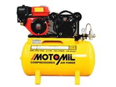 Compressor de Ar Motomil CMV-10PL/100G Air Power à Gasolina