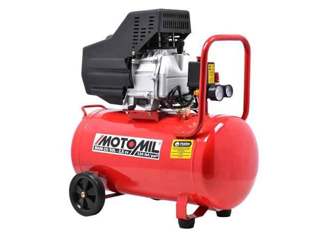 Compressor de Ar Motomil MAM-10/50BR 120LBS Monofásico Bivolt