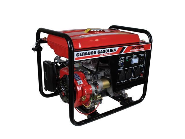 Gerador de Energia Bivolt Motomil MG-3000CLE 2800W à Gasolina