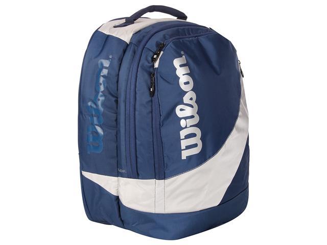 Mochila Espotiva Wilson IQ10337B Azul e Cinza