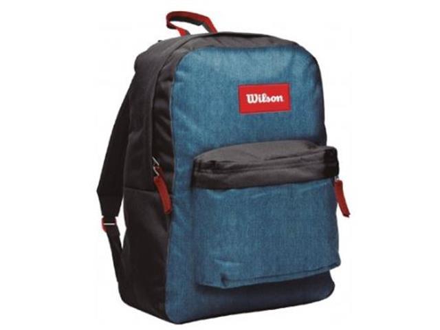 Mochila Wilson Urban Style MC20017B Preto e Azul