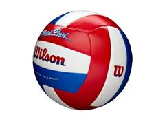 Bola de Vôlei Wilson Match Point Branco com Vermelho e Azul - 1