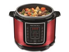 Panela de Pressão Elétrica Digital Mondial Master Cooker Red 5L 220V - 2