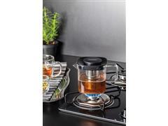 Bule para Chá Tramontina em Vidro e Aço Inox com Infusor 600ML - 2