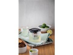 Bule para Chá Tramontina em Vidro e Aço Inox com Infusor 600ML - 4