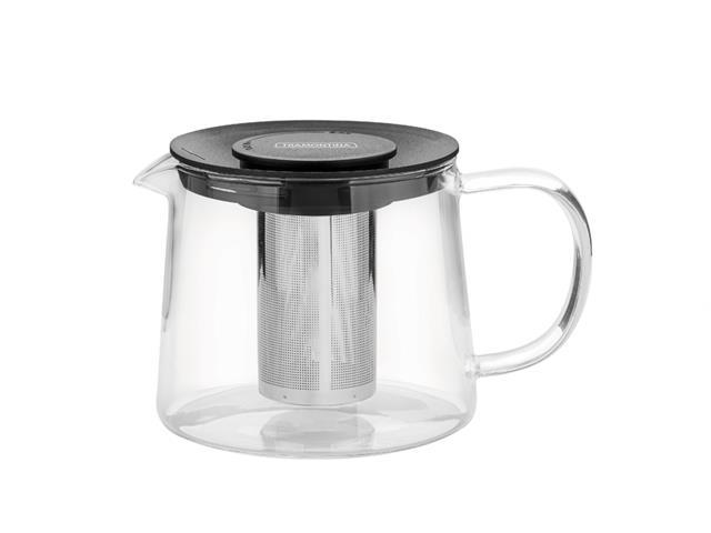 Bule para Chá Tramontina em Vidro e Aço Inox com Infusor 900ML