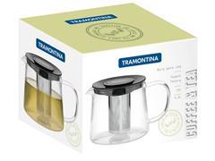 Bule para Chá Tramontina em Vidro e Aço Inox com Infusor 900ML - 4