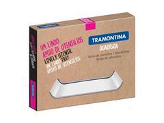 Bandeja Tramontina Quadrata em Aço Inox - 1