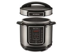 Panela de Pressão Elétrica Digital Mondial Master Cooker 5L Inox - 2