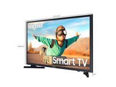 "Smart TV LED 32"" Samsung HD Tizen Conv.TV Digital HDR 2HDMI 1USB Wi-Fi - 2"