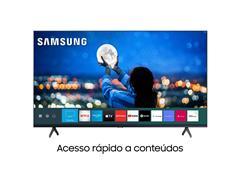 "Smart TV LED 43"" Samsung Tizen Crystal UHD 4K HDR10+ 2 HDMI 1USB Wi-Fi - 1"
