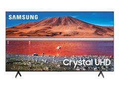 "Smart TV LED 55"" Samsung Tizen Crystal UHD 4K HDR10+ 2 HDMI 1USB Wi-Fi - 1"