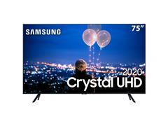 "Smart TV LED 75"" Samsung Tizen Crystal UHD 4K HDR PREMIUM 3HDMI Wi-Fi"