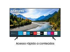 "Smart TV QLED 55"" Samsung Pontos Quânticos UHD 4K HDR 3HDMI Wi-Fi - 1"