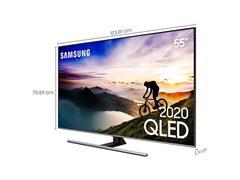 "Smart TV QLED 55"" Samsung Pontos Quânticos UHD 4K HDR 4HDMI Wi-Fi - 4"