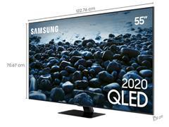 "Smart TV QLED 55"" Samsung Pontos Quânticos UHD 4K HDR 4HDMI Wi-Fi - 3"