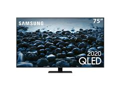 "Smart TV QLED 75"" Samsung Pontos Quânticos UHD 4K HDR 4HDMI Wi-Fi Q80T - 0"