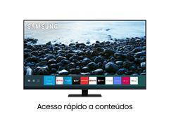 "Smart TV QLED 75"" Samsung Pontos Quânticos UHD 4K HDR 4HDMI Wi-Fi Q80T - 1"