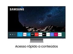"Smart TV QLED 75"" Samsung Pontos Quânticos 8K IA HDR3000 4HDMI Q800T - 2"