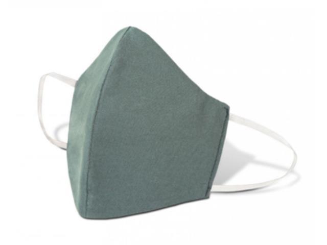 Máscara de Proteção Lavável Cinza