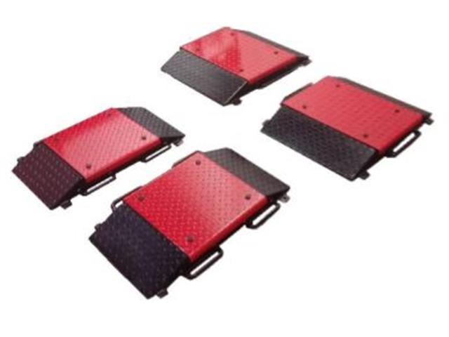 Balança de Plataformas/Sapatas Portátil Pesenti PESE-3956 32 Toneladas
