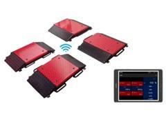Balança de Plataformas Portátil Pesenti PESE-3956 Lastro Wireless 32T