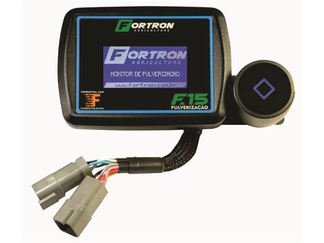 Monitor F15 Pulverização Completo AGCO para Massey/ Valtra