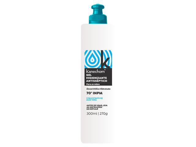 Álcool em Gel Higienizador para Mãos 70% Kanechom Aloe Vera 300ML