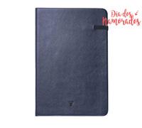 Caderno de Anotações Vivara Sem Linhas Médio Marinho