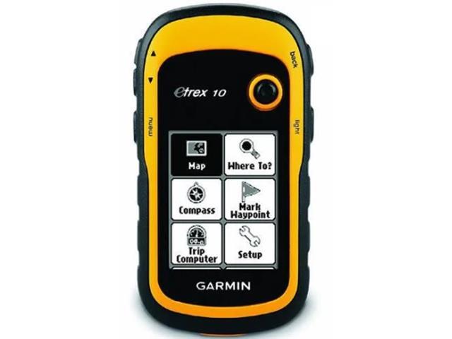 GPS Portátil Garmin eTrex 10 Amarelo