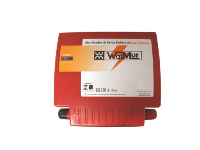 Energizador de Cerca Elétrica Rural 2.5 J WalMur S2500 Bivolt