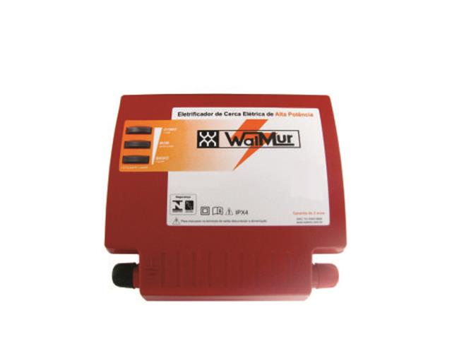 Energizador de Cerca Elétrica Rural 4.5 J WalMur S4500 Bivolt