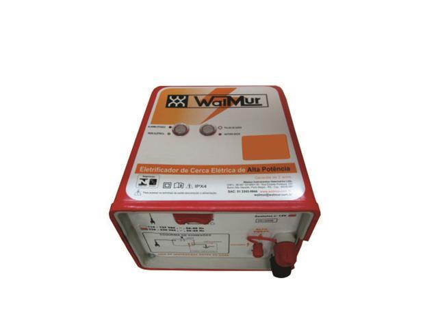 Energizador de Cerca Elétrica Rural 15.0 J WalMur K15000 Bivolt