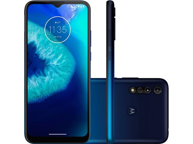 "Smartphone Motorola Moto G8 Power Lite 64GB 6.5"" 4G Câm 16+2+2MP Navy"
