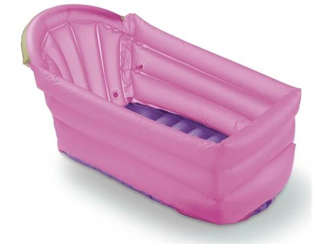 Banheira Infantil Inflável Multikids Baby Bath Buddy Rosa